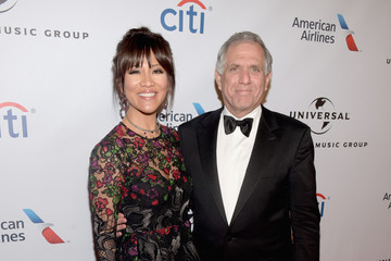 Leslie Moonves Universal Music Group 2016 Grammy After Party Presented By American Airlines And Citi - Red Carpet