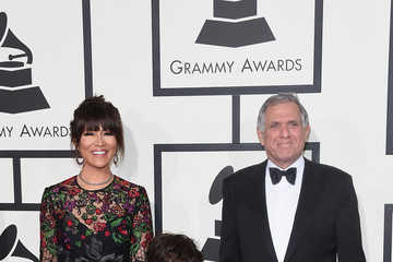 Leslie Moonves The 58th GRAMMY Awards - Arrivals
