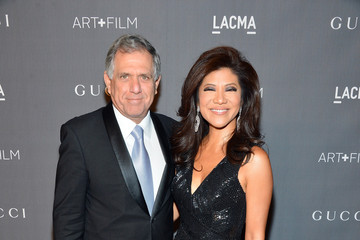 Leslie Moonves LACMA 2012 Art + Film Gala Honoring Ed Ruscha And Stanley Kubrick Presented By Gucci - Red Carpet