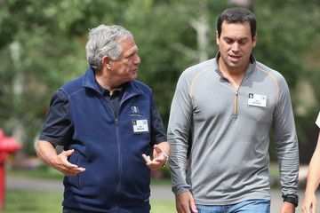 Leslie Moonves Business Leaders Converge in Sun Valley, Idaho for the Allen and Company Annual Meeting