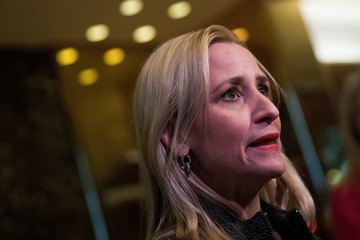 Leslie Rutledge President-Elect Donald Trump Holds Meetings At His Trump Tower Residence In New York