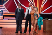 "(L-R) Daniel Hartwich, Benjamin Piwko, Isabel Edvardsson and Regina Luca during the 10th show of the 12th season of the television competition ""Let's Dance"" on May 31, 2019 in Cologne, Germany."