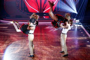 (L-R) ,Larissa Marolt, Massimo Sinato, Isabel Edvardsson and Alexander Klaws perform on stage during the 5th show of 'Let's Dance' on RTL at Coloneum on May 2, 2014 in Cologne, Germany.