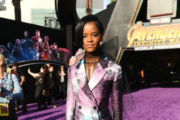 Letitia Wright Premiere Of Disney And Marvel's 'Avengers: Infinity War' - Red Carpet