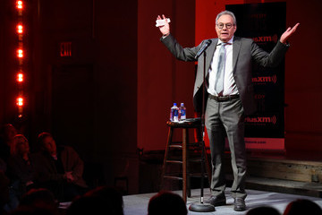 Lewis Black Comedian Lewis Black Performs At Private Event Exclusively For SiriusXM Subscribers At The Barrow Street Theatre In New York City