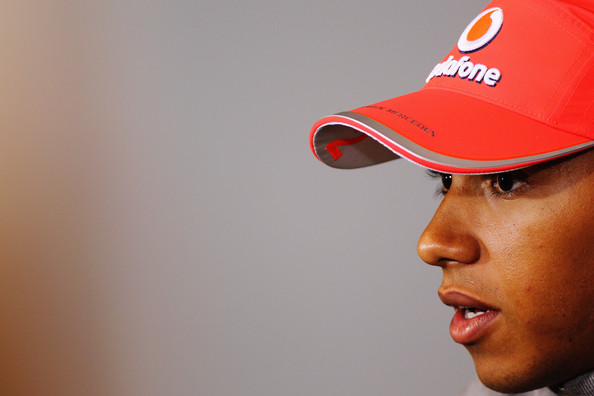 Lewis Hamilton Lewis Hamilton of Great Britain and McLaren Mercedes attends the drivers press conference during previews to the Belgian Formula One Grand Prix at the Circuit of Spa Francorchamps on August 26, 2010 in Spa Francorchamps, Belgium.