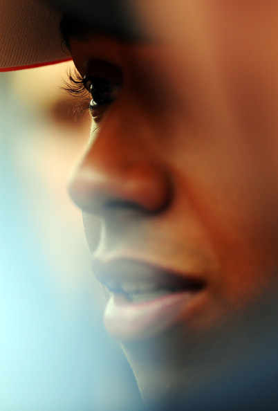 Lewis Hamilton Lewis Hamilton of Great Britain and McLaren is interviewed in the paddock by the media during previews to the Belgian Formula One Grand Prix at the Circuit of Spa Francorchamps on August 25, 2011 in Spa Francorchamps, Belgium.