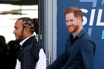 Lewis Hamilton The Duke Of Sussex Officially Opens The Silverstone Experience