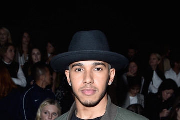 Lewis Hamilton Valentino : Front Row - Paris Fashion Week Womenswear Spring/Summer 2016