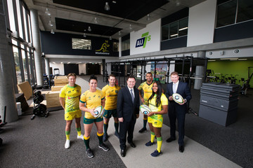 Lewis Holland Rugby Australia Building Opening