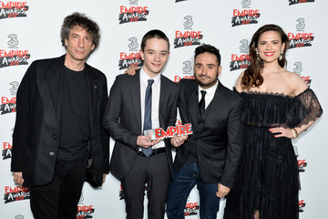 Lewis MacDougall Three Empire Awards - Winners Room