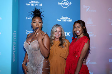 Leyna Bloom Megan Thee Stallion Sports Illustrated Swimsuit Celebrates Launch Of The 2021 Issue At Seminole Hard Rock Hotel & Casino