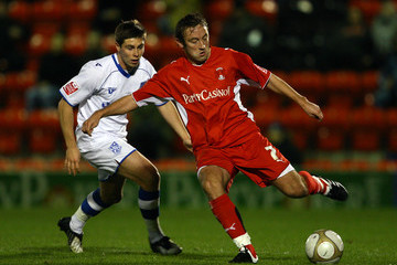 Charlie Barnett Leyton Orient v Tranmere Rovers - FA Cup 1st Round Replay