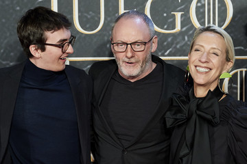 Liam Cunningham Isaac Hempstead Wright 'Game Of Thrones. The Official Exhibition' Photocall