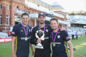 Liam Dawson Kent vs. Hampshire: Royal London One-Day Cup Final