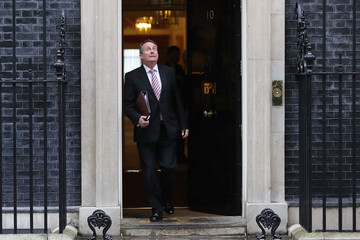 Liam Fox Government Ministers Attend Pre-Budget Cabinet