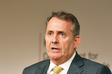 Liam Fox Liam Fox Set Out UK's Top Targets For Trade Deal