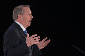 Liam Fox The 2017 Conservative Spring Forum Takes Place In Cardiff