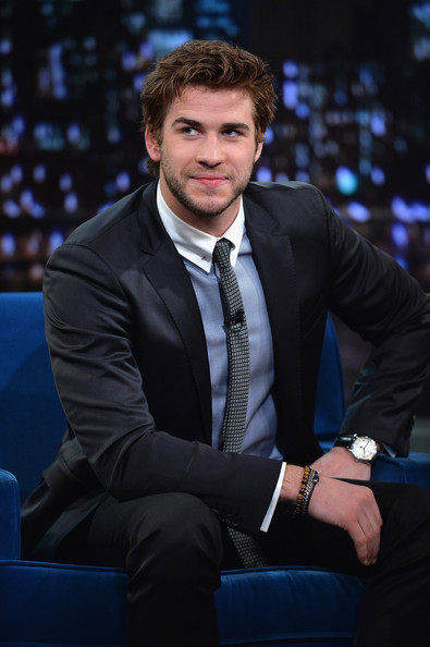 Liam Hemsworth Visits 'Late Night with Jimmy Fallon'