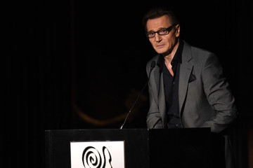 Liam Neeson 2015 New York Film Critics Circle Awards - Inside