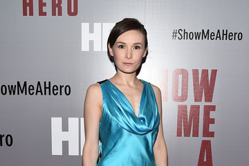 Libby Woodbridge Guests Attend the 'Show Me a Hero' New York Screening