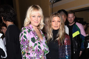 Malin Akerman and Fergie attend the Libertine Fall 2019 Runway Show at Ebell of Los Angeles on April 26, 2019 in Los Angeles, California.
