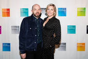 Paul Scheer and June Diane Raphael attends the Library Foundation of Los Angeles' Young Literati's 11th Annual Toast at City Market Social House on April 06, 2019 in Los Angeles, California.