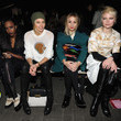 Liela Moss Front Row at the 3.1 Phillip Lim Show