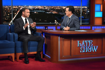 """Liev Schreiber CBS's """"The Late Show with Stephen Colbert"""" - Season Two"""