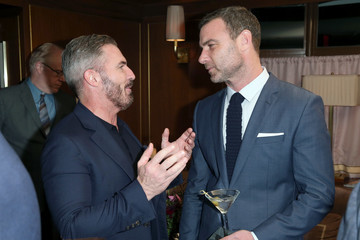 Liev Schreiber Esquire Celebrates March Cover Star James Corden and the Mavericks of Hollywood Presented by Hugo Boss