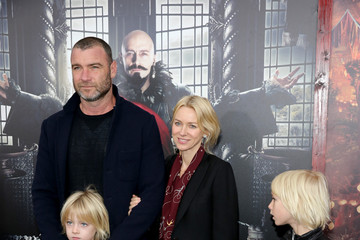 Liev Schreiber 'Pan' New York Premiere - Inside Arrivals