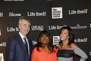 (L-R) Steve James, Chaz Ebert and Marlene Iglitzen attend the 'Life Itself' New York premiere at the Film Society of Lincoln Center on June 23, 2014 in New York City.