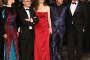 "Actress Alina Berzenteanu,director Daniele Luchetti, actress Stefania Montorsi and actors Elio Germano and Raoul Bova attend the ""Our Life"" Premiere at the Palais des Festivals during the 63rd Annual Cannes Film Festival on May 20, 2010 in Cannes, France."