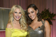Christie Brinkley and Ashley Graham pose after the Lifetime's American Beauty Star Season 2 Live Finale at Manhattan Center on March 27, 2019 in New York City.
