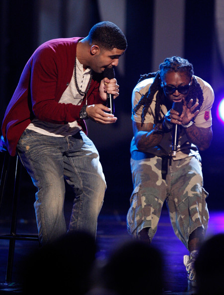 Pictures Of Lil Wayne 2009. Drake and Lil Wayne - 2009 BET