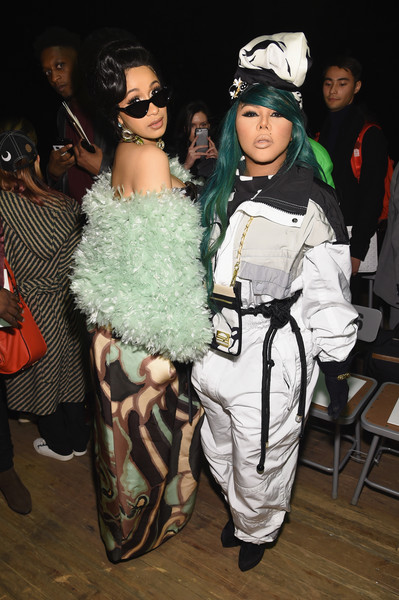 Lil+Kim+Marc+Jacobs+Fall+2018+Show+Front