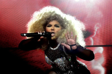 Lil Kim Puff Daddy and Bad Boy Family Reunion Tour at The Forum in Inglewood, CA