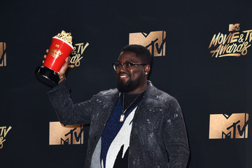Lil Rel Howery 2017 MTV Movie and TV Awards - Press Room