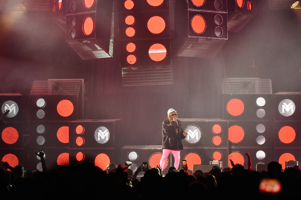 Blink-182 And Lil Wayne Perform At The Forum