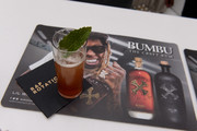 """A view of Bumbu on display at Lil Wayne's """"Funeral"""" album release party on February 01, 2020 in Miami, Florida."""