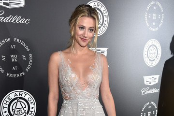 Lili Reinhart The Art of Elysium's 11th Annual Celebration - 'Heaven' - Red Carpet