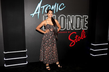 Lilly Singh Stoli Vodka And Universal Studios Host Premiere Of 'Atomic Blonde'