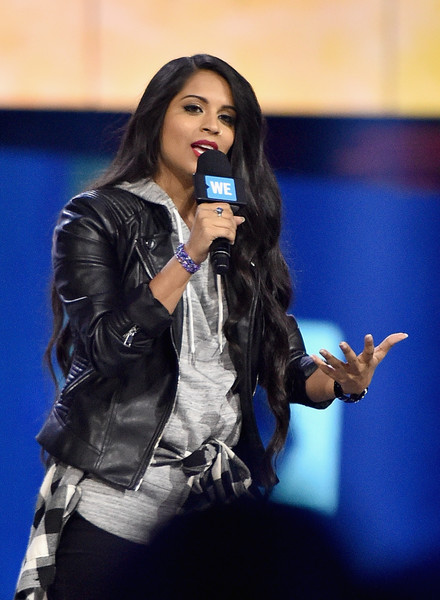 WE Day California [performance,music artist,entertainment,singing,performing arts,singer,talent show,event,long hair,leather,lilly singh,california,inglewood,the forum,we day]