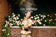 Lily Aldridge poses for a photo during the Lily Aldridge parfums launch event at The Bowery Terrace at the Bowery Hotel on September 08, 2019 in New York City.