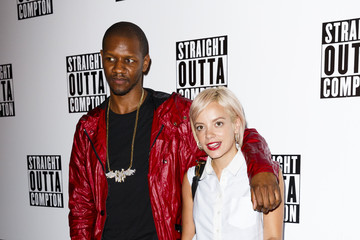 Lily Allen Guests Attend a Special Screening of 'Straight Outta Compton'