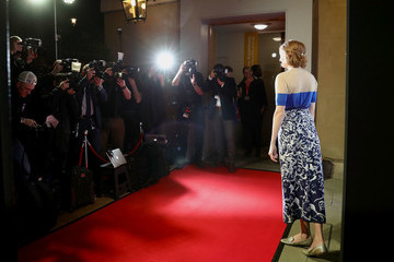Lily Cole 61st BFI London Film Festival Awards - Red Carpet Arrivals