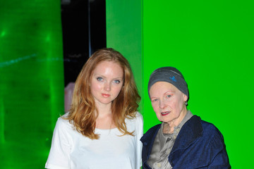 Lily Cole Stars at Selfridges Imaginarium in London
