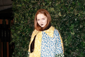 Lily Cole Charles Finch & Chanel Pre BAFTA Party - Arrivals