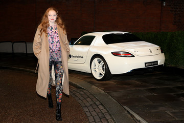 Lily Cole The 2015 Green Carpet Challenge By Erdem, In Partnership With Mercedes-Benz