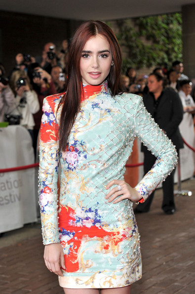 "Lily Collins - ""Writers"" Premiere - Arrivals - 2012 Toronto International Film Festival"